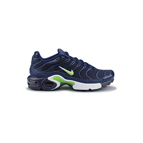 3a00adb7a5 Nike Air MAX Plus TN 1 655020-421 Midnight Navy/Volt-Blue-