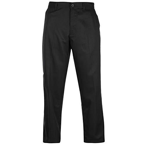 Slazenger Herren Golf Hose Regular Fit Schwarz 32W 31R
