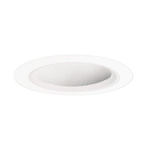 Halo Einbauleuchte 498W-4pk Trim-- Slope Decke Trim Weiß Trim mit Weiß coilex - Each White Trim/White Baffle -