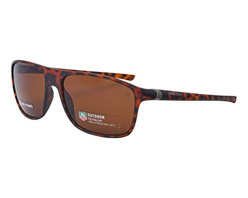 TAG Heuer Sonnenbrillen (TH-6041 211) matt havana - braunfarben