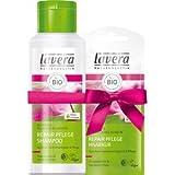 Lavera Haarpflege Shampoo Geschenkset Repair Pflege Shampoo 200 ml + Repair Pflege Haarkur 20 ml 1 Stk.