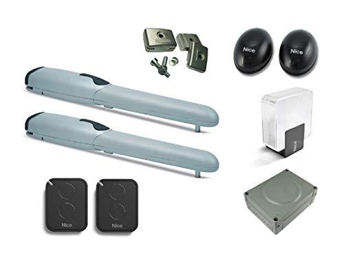 Nice-Wingo2024KIT-2-X-WG2024-motores-2-X-FLO2RE-transmisores-ELDC-Luz-intermitente-BF-par-de-fotoclulas-MC424L-central-De-Mando-con-receptor-enchufable-SMXI-PLA13-interruptores-de-tope-mecnicos-para-p