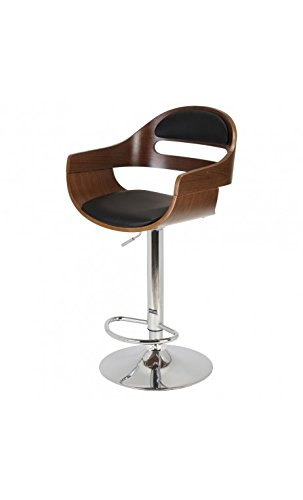 La Chaise Longue Fauteuil DE Bar Kubrick, Cuir, 50x47x92 cm