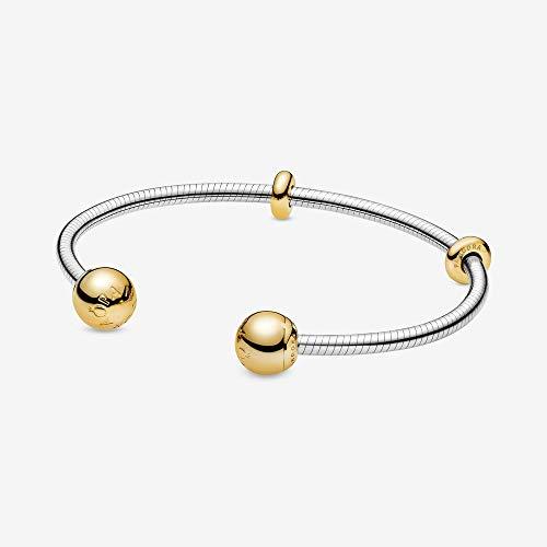 Pandora 568733C00 Armreif Offen Moments Snake Chain Style Silber 16 cm