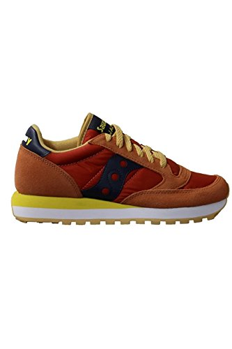 Saucony Jazz Original, Scarpe  Low-Top Donna 379 (Burnt/Orange)
