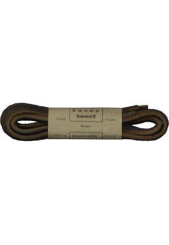 Timberland pelle non conciata ricambio lacci per stivali, Chukkas e piattaforma scarpe, marrone (Brown), 113 cm 112 cm