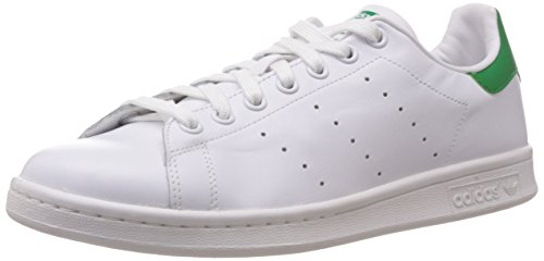 adidas Stan Smith, Scarpe Basse Unisex Adulto, Bianco (Running White Ftw/Running White/Fairway), 42