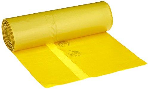 Müllsäcke DEISS PREMIUM gelb, 60 my, 70 Liter