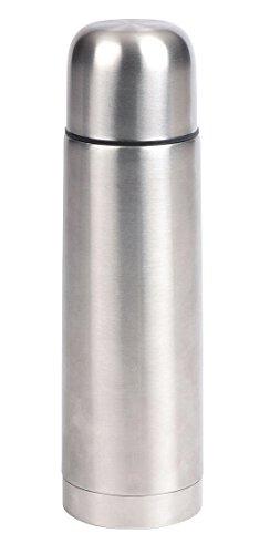 Thermos per bambini, 500 ml, in acciaio inox, con chiusura di sicurezza utilizzabile con una sola mano