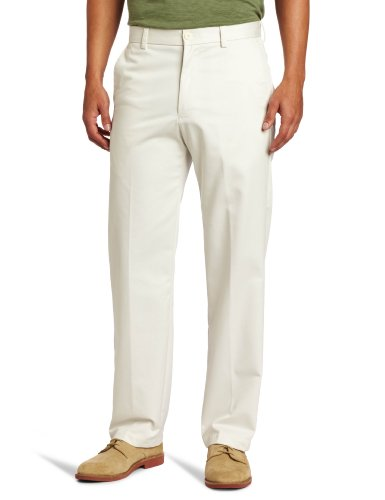 8d5723c5e2a3 Izod para Hombre Big and Tall Flat Front Extended Twill Pant - Beige -