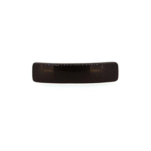 Barrette en Métal et Plastique - 6,5cm - Noir - Accessoire Coiffure