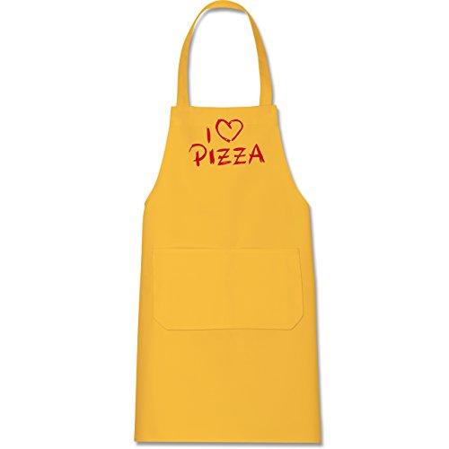kuche-i-love-pizza-80-cm-x-73-cm-h-x-b-gelb-x967-hobbyschurze-mit-fronttasche-fur-damen-und-herren