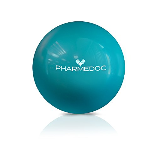 PharMeDoc Acupressure Massage Ball Set - 2.5 inch - Deep Tissue Neck, Back, Arm & Foot Massager for Physical Therapy, Athletes, Yoga - Smooth and Spiky Muscle Roller Lacrosse Balls (Combo) (Smooth)