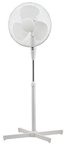 Starke Qualität 40,6cm oszillierendes Ständer Luftkühlung Electric Fan 3Speed freistehend