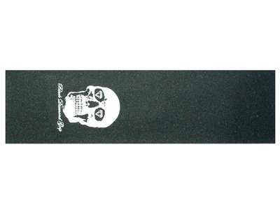 Black Diamond Skateboard Griptape skull weiß