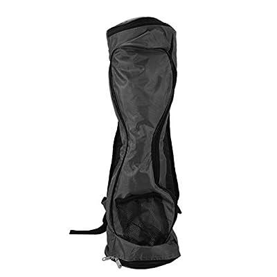 Tragbare Größe Oxford Tuch Hoverboard Bag Sport Handtaschen für selbstausgleichende Auto 6,5 Zoll Elektroroller Tragetasche - schwarz