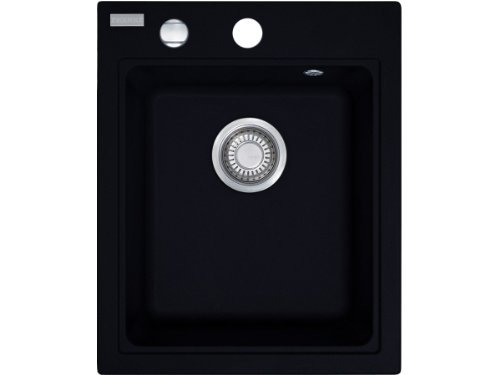 Franke Maris MRG 610-42 FRAGRANITE onice-lavandino Nero piccola l'incasso lavello cucina