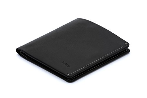 Bellroy Leather Note Sleeve Wallet Black - RFID
