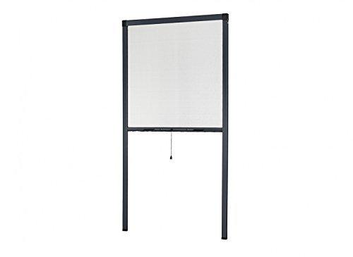 Insektenschutz Rollo Fliegengitter Insektenschutzrollo für Fenster SMART 100 x 160 cm