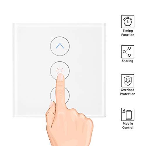 OurLeeme Smart Dimmer Interruptor de luz, Control táctil WiFi Control Remoto de...