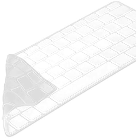 kwmobile protector de silicona para el teclado QWERTZ para Apple MacBook Pro 13