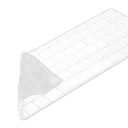 kwmobile Tastaturschutz Apple MacBook Air 13''/Pro Retina 13''/15'' (bis Mitte 2016) - QWERTZ Silikon Laptop Tastaturfolie - Notebook Tastaturschutzfolie Transparent