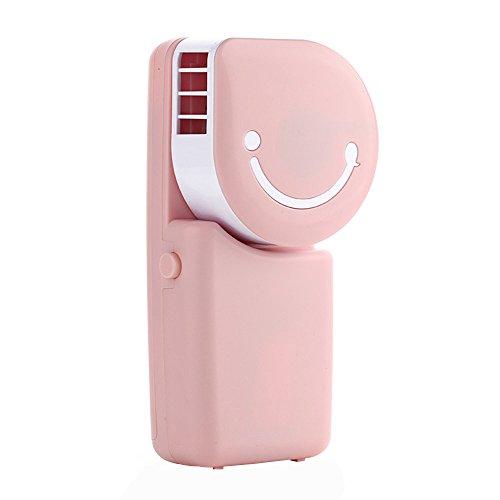 ZEELIY Tragbare Handklimaanlage USB Klimaanlage LüFter Aufladbare Tragbare Mini Sommer Outdoor Handheld Runde Fan