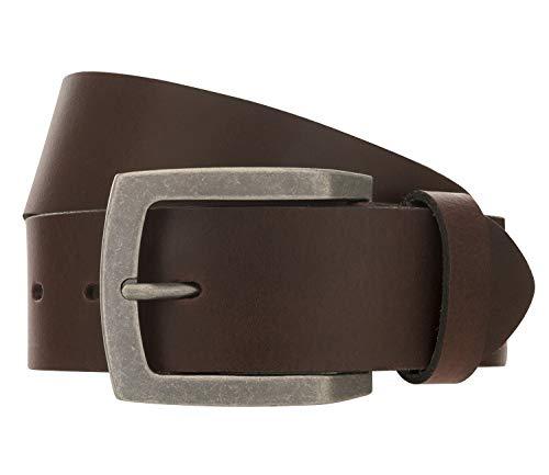 LLOYD Men's Belts Gürtel Herrengürtel Ledergürtel 366, Farbe:Braun, Länge:90