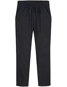 CTOOO Pantalones Casuales Sueltos Rectas Salvajes De La Moda De Las Mujeres