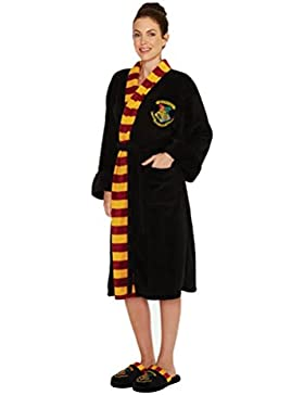 Harry Potter Hogwarts Bademantel Bademantel Damen
