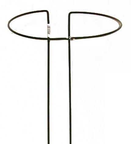 Strauchstütze 35 cm, 5 mm, grün, vollrund, verstellbar
