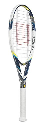 Wilson Envy 100L 16 x 20 Tennis Racket – Blue, 4 Grip