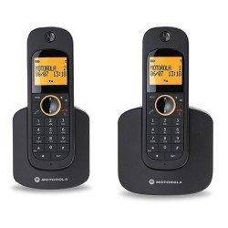 Motorola MOT31D1002n - Teléfono inalámbrico,, color negro