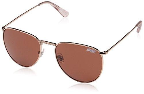 Superdry Damen Zadie Sonnenbrille, Mehrfarbig (Rose Gold/pink Solid Brown), 55