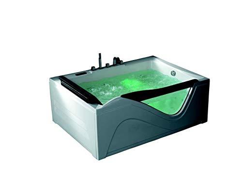Whirlpool hampton 180x 130vasca da bagno vasca idromassaggio per 2persone uvp * 3.790, -
