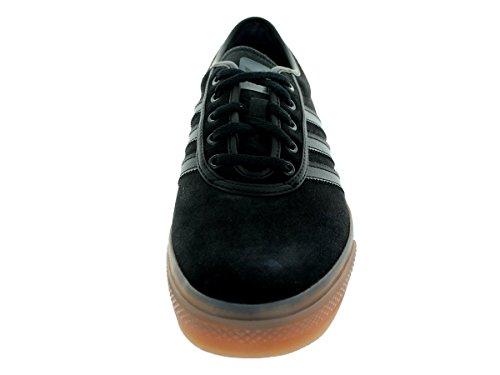 Adidas Adi-agio Skate scarpe, nero / nero / rosso scarlatto, 4 M Us Cblack/Boonix/Gum4