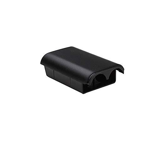Ogquaton Batterieabdeckung Kunststoff Xbox 360 Wireless Controller Batterie Shell Griff Zubehör 5 STÜCKE Schwarz (360-controller Shell Und Xbox)