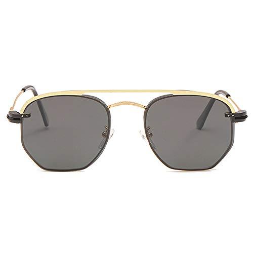 ETH UV400 Metall Retro Fahrer Sonnenbrille Clip Polarisierte Sonnenbrille Männer Und Frauen Brille Persönlichkeit Unregelmäßige Brille dauerhaft