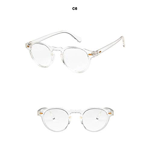 GAOHAITAO Lense Frame Sunglasses Designer Men Women Sunglass,White Clear