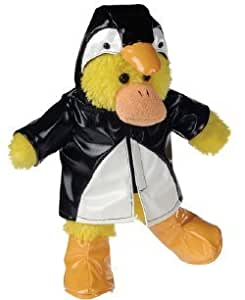 "Mary Meyer Silly Slickers - Plush Duck in Penguin Rain Gear - 11"" by Mary Meyer"