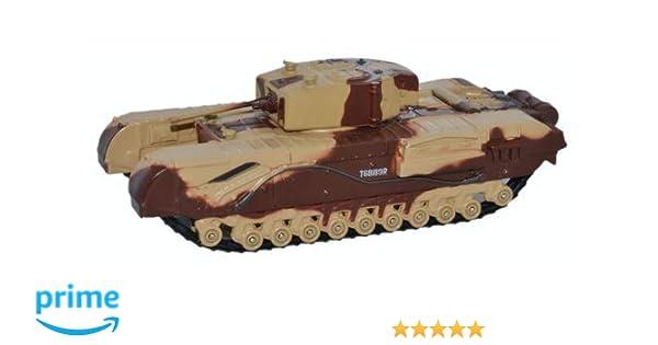 Major King Oxford Diecast 76CHT001 Churchill Tank MkIII Kingforce