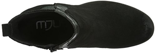 Mjus - 164204-0101-003, Stivali bassi con imbottitura leggera Donna Nero (Schwarz (nero+pepe))