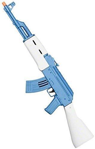 Fancy Me Damen Herren Erwachsene Jungen Mädchen Kinder Spielzeug Pistole AK47 Kalashnikov Gewehr Soldaten Armee Militär Kostüm Waffe Zubehör Requisit