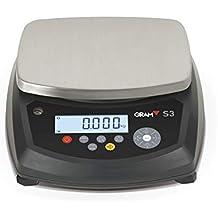 Balanza Industrial peso Gram S3-6 (6Kgx0,5g) (25x19cm)