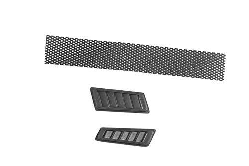 G.P.M. R/C Scale Accessories : Fender Vent for Traxxas TRX-4 Mercedes-Benz G500 (82096-4) - 3Pc Set Black -