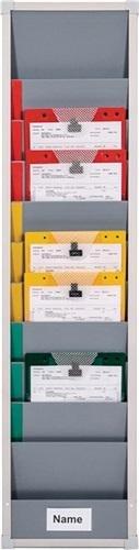 Eichner Organisation GmbH & Co. KG Planungstafel Einzelsegment B315xH1282xT78mm inkl. Rollen f. DIN A4