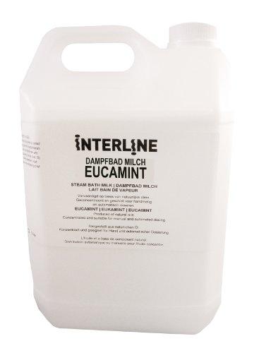 Interline 45500010 Dampfbad Milch Eukaminze 5 L