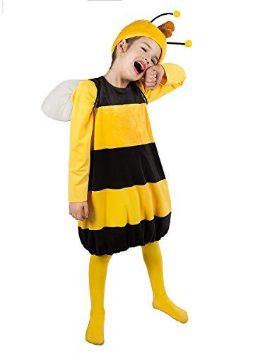 Willi Kostüm für Kinder - Biene Maja - Zweiteilig (110-116) (Honigbiene Kostüm)