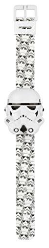 Star Wars STAR427 - Reloj digital para niño con esfera negra y correa de plástico negro