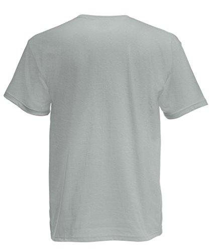 Fruit of the Loom Herren, Regular Fit, T-Shirt, Premium Tee Single Zink